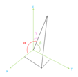 3D Vector Angle Calculator | Three Dimensional Vector Angle Calculation